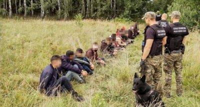Мигрантско цунами заля Полша от Беларус