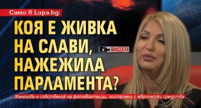 Само в Lupa.bg: Коя е Живка на Слави, нажежила парламента? (ВИДЕО)