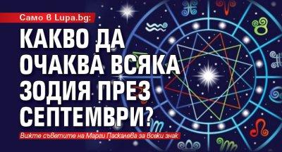 Само в Lupa.bg: Какво да очаква всяка зодия през септември?