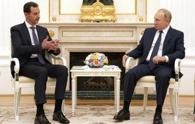 Путин прие Асад в Кремъл
