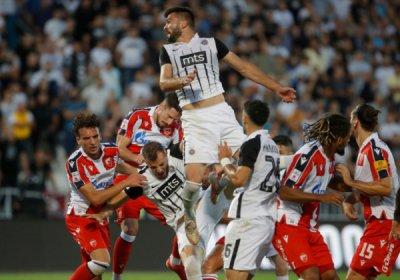 Без победител в голямото дерби на сръбския футбол