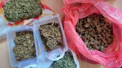 Спипаха врачанин с 1 кг марихуана в Студентски град