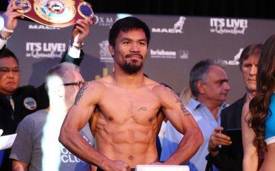 Боксьорът Мани Пакиао иска да е президент на Филипините