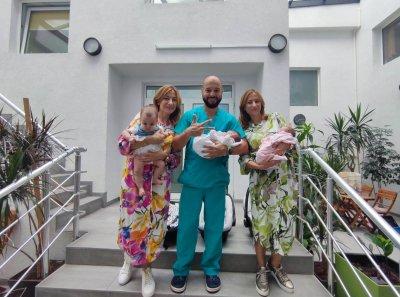 Близначки родиха близнаци във Варна