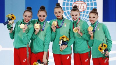 Олимпийските шампионки от ансамбъла и Стойка Кръстева вече са Почетни граждани на София