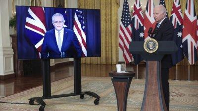 САЩ, Великобритания и Австралия сключиха пакт за сигурност