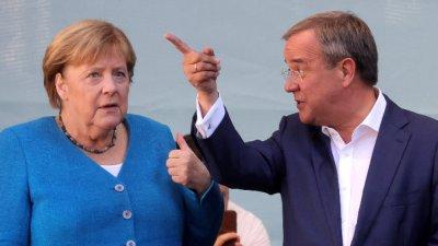 Приближени до Меркел политици претърпяха мажоритарно поражение