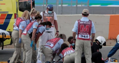 15-годишен пилот премазан на пистата по време на състезание