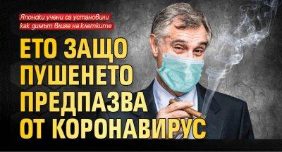 Ето защо пушенето предпазва от коронавирус