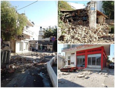 Ново силно земетресение на остров Крит, жителите нощуваха на открито
