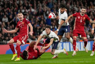 "Унгария препъна Англия на ""Уембли"""