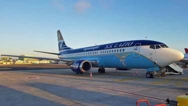 Лацио къса връзката с българска авиокомпания