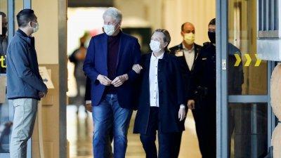 Изписаха от болницата Бил Клинтън