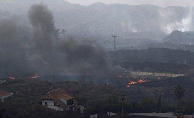 Вулканът Кумбре Виеха отмени полети на о-в Палма