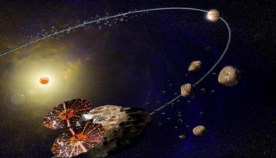 НАСА за първи път изследва астероидите на Юпитер