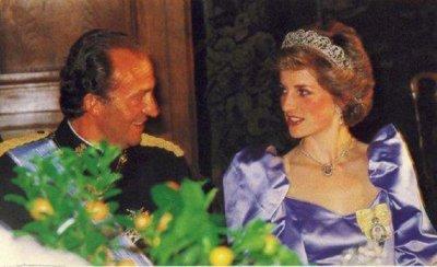 Хуан Карлос бил сексманиак, искал да спи с принцеса Даяна