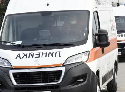 Четирима пострадаха при верижна катастрофа край Пловдив