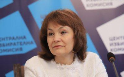 Росица Матева, ЦИК: Няма проблем със съхраняването на машините за гласуване