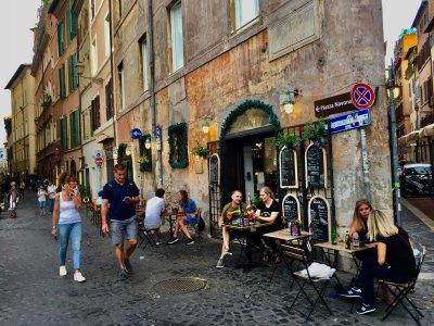 """Въздушно такси от """"Фиумичино"""" до центъра на Рим"""