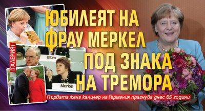 Юбилеят на фрау Меркел под знака на тремора (ГАЛЕРИЯ)