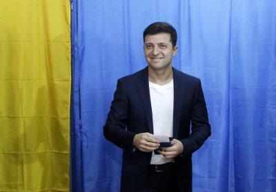 Зеленски е напът да спечели изборите в Украйна