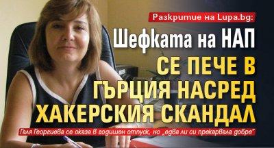 Разкритие на Lupa.bg: Шефката на НАП се пече в Гърция насред хакерския скандал