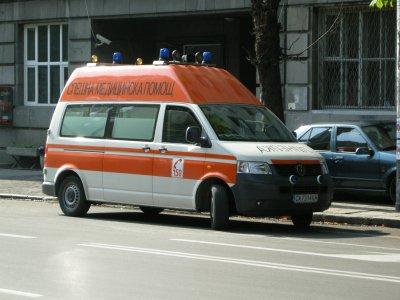 Блъснаха жена в центъра на София (СНИМКИ 18+)