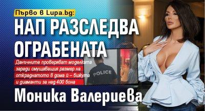 Първо в Lupa.bg: НАП разследва ограбената Моника Валериева