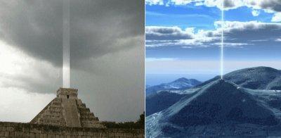 Пирамиди светнаха отново