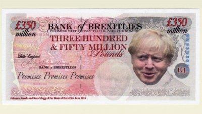 Пуснаха фалшиви лири за Брекзит