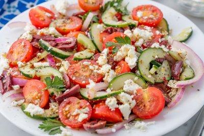Гръцка салата (оригинална рецепта)