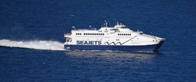 Ферибот спасява блокираните туристи на Самотраки