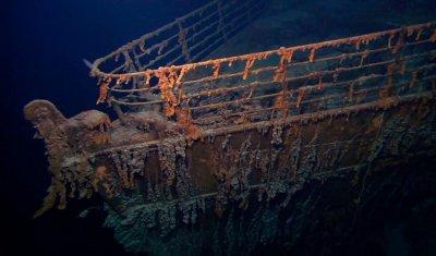 """Влошава се състоянието на останките от """"Титаник"""""""