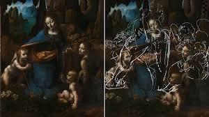 Откриха тайни рисунки на Леонардо