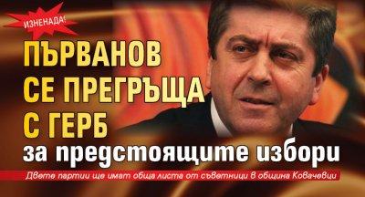 Изненада! Първанов се прегръща с ГЕРБ за предстоящите избори