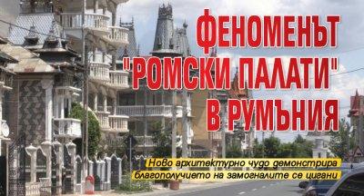 """Феноменът """"ромски палати"""" в Румъния"""