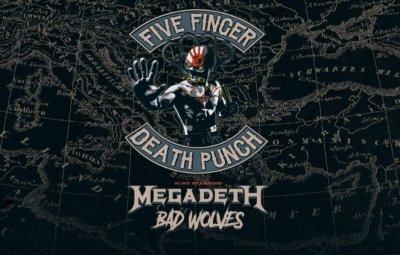 Megadeth отново идват у нас, този път с още две банди