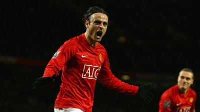 Признание за Бербатов - той е вторият най-добър №9 на Юнайтед във Висшата лига