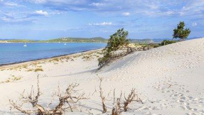 Семейство открадна 40 кг. пясък от плаж на Сардиния