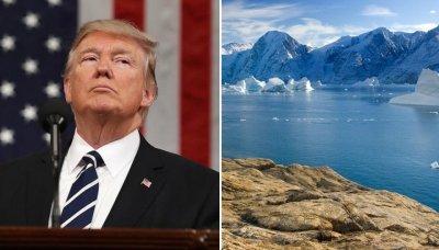 Тръмп иска да купи остров Гренландия