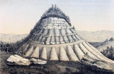 Как изчезва пирамида?