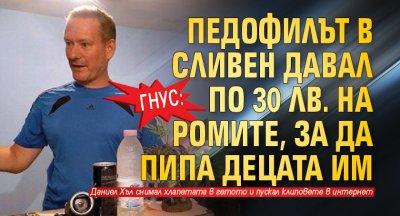Гнус: Педофилът в Сливен давал по 30 лв. на ромите, за да пипа децата им