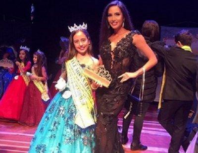 Щерката на Наталия Гуркова спечели световен конкурс за красота
