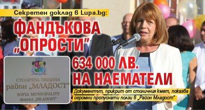 """Секретен доклад в Lupa.bg: Фандъкова """"опрости"""" 634 000 лв. на наематели"""