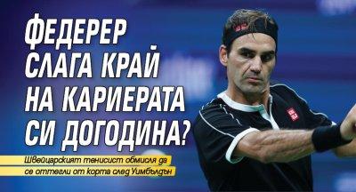 Федерер слага край на кариерата си догодина?