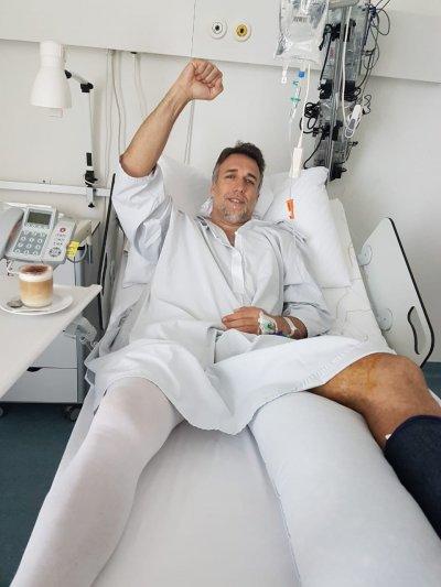 Батистута осакатя, аржентинецът сложи протеза