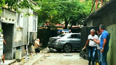 Бомба избухна в колата на съдебен изпълнител