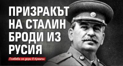 Призракът на Сталин броди из Русия
