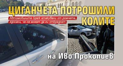 Циганчета потрошили колите на Иво Прокопиев