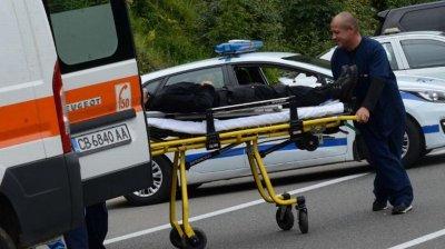 Младеж е в кома след тежка катастрофа на пътя за Царево